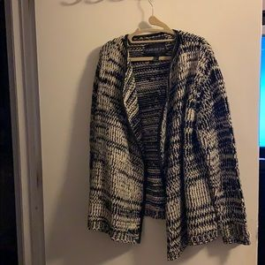 Forever 21 Women's marbled cardigan EUC
